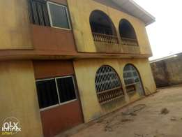 A Block Of 4Flats Of 3bedroom Detached House For Sale at Badek,Ayobo.