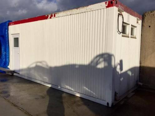 Sanitärcontainer WC Container Duschcontainer Wasch - 1992