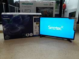 S2 series Digital/Satellite enabled 32 inch Smartec LED flat screen TV