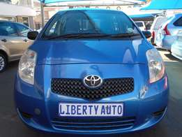 2008 Toyota Yaris T3 Hatch Back 92,193 km Manual Gear Cloth Upholstery