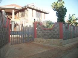 Brand new executive 4 bedroom own compound to let at Garden estate.