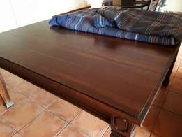 Wetherlys Solid Mahogany Dining Table (8 Seater)