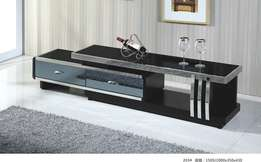 Quality stainless and mirro front adjustable Tv stand