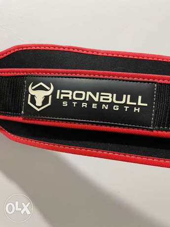 Gym ironbull Weight lifting belt size of 40 inches and above