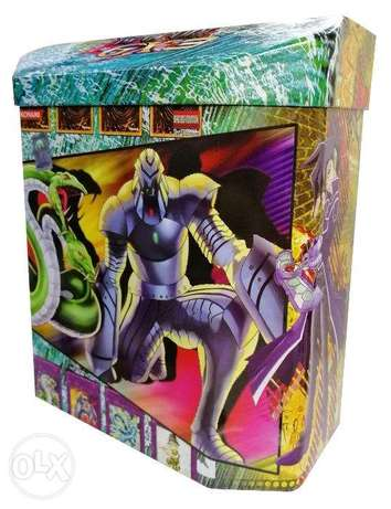 Brand New Yu-Gi-Oh Playing Cards - Big Hex Tin Box