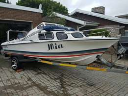 Flamingo boat with 80hp Yamaha for sale