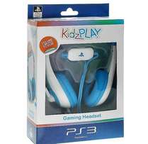 KidzPLAY Stereo Gaming Headsets for PS3 (Blue & Pink) - NEW