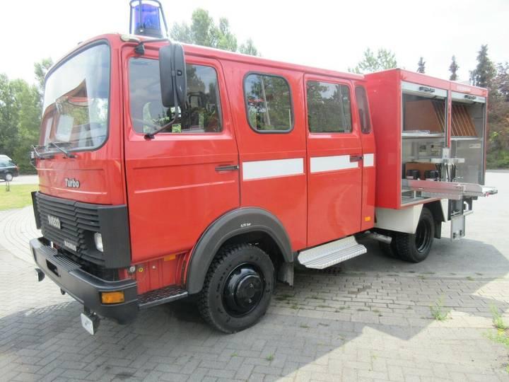 Iveco Feuerwehr 75-14 LF8-6 Wassertank-Pumpe - 1992