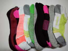 Ladies pretty ankle socks at 100/=
