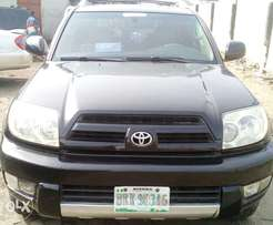 Clean 2004 Model Toyota 4runner with Low Mileage