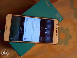 Infinix note 4 with carton and charger