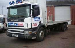 Affordable and reliable 2ton to 8 ton Trucks available for Hire