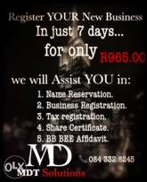 New business Registration