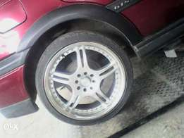 17inch rims forsale without tyres 1400neg