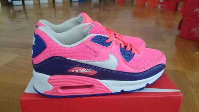 Nike Air Max 90, mix kolorów roz 36 40 zimowa oferta