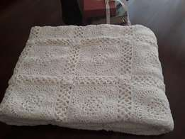 New Heirloom Crocheted Bedspread/Throw