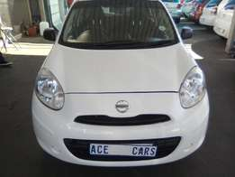 2013 Nissan Micra 1.6 Accuta selling for R70,000.