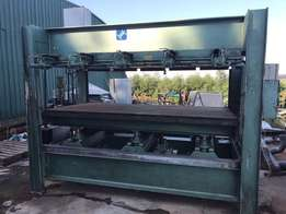 Press, Laminating, ORMA hot, 2.500 x 1.300, ±120 Ton