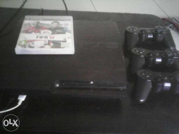 used ps3 with 3pads and 3 games Mombasa Island - image 1