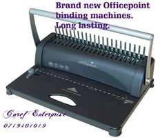 Binding machine officepoint at Kshs. 3,500