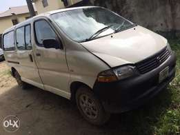 Breaking News! Toyota hiace bus 2002mdl Used for sale at affordable