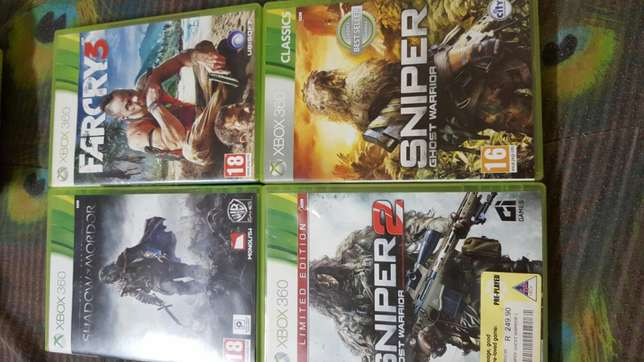 Xbox with games to sell. For cash. Christiana - image 8