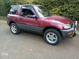 Toyota rav4 3door very clean in mint condition