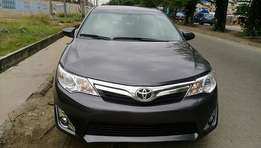 Clean and sound Toyota Camry 2013 tokunbo