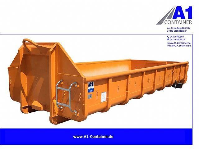 Normbehälter 10m³ Doppelflügeltür - ORANGE - 2019