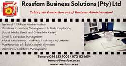 Rossfam Business Solutions - Business Administrative Consultant