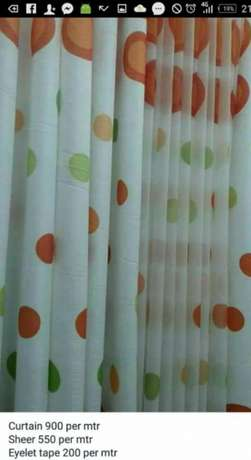 Dotted curtain Hurlingham - image 1