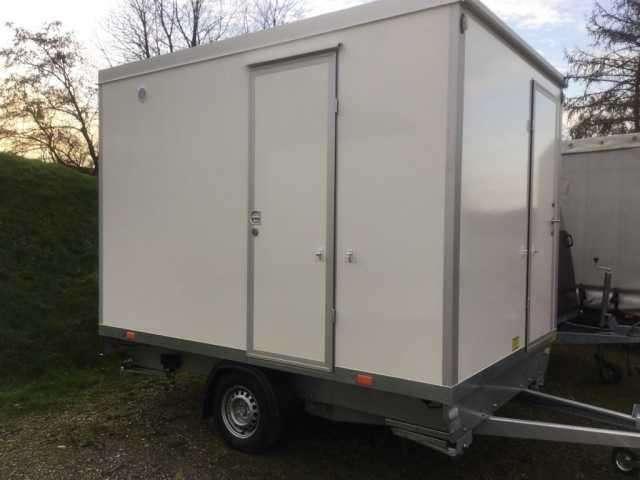 Rosemeier 35tf 32 Bauwagen M. Toilette Bauwagen