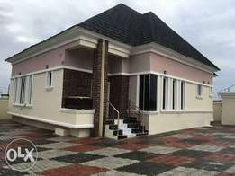3bedroom bungalow with 1 room bq