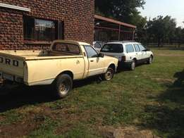 ford cortina 3l and a ford siera 2l for sale or to swop