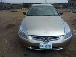 Newly baked 05 Honda Accord with Tokunbo engine for grab