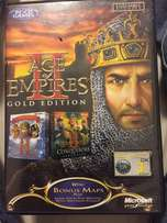 Age of empires PC game + expansion pack disc.