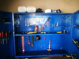 Toolbox with tools for sale R2500