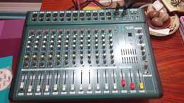 12 channel power mixer