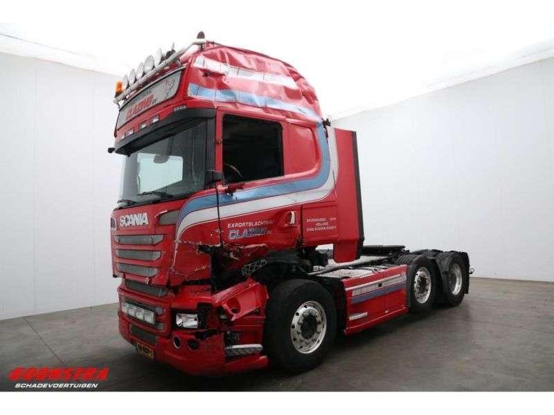 Scania R 580 V8 Topline 6x2 Aut. Navi Retarder Standair - 2014