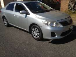 2012 Toyota Corolla 1.6i with low mileage