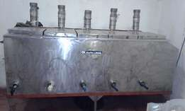 Stainless Steel Tanks with mixers