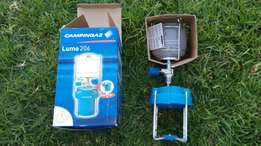 Camping gas light