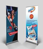 Normal & broad base pull up banners.