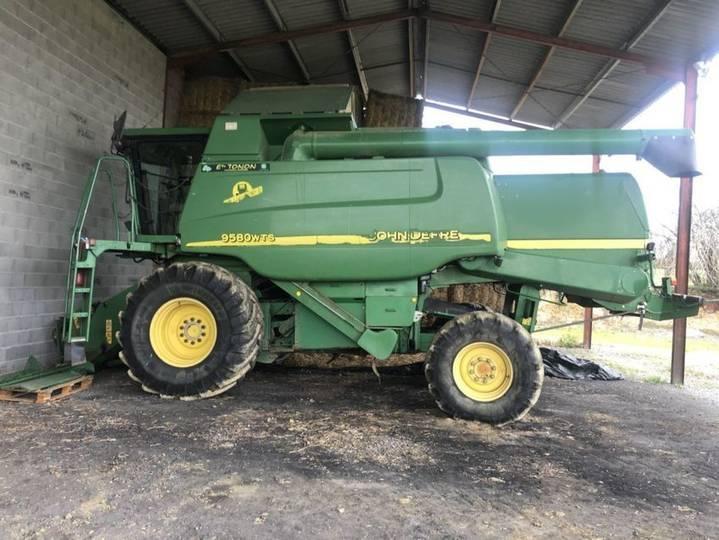 John Deere wts 9580 hillmaster 4x4 - 2002