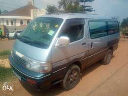 Toyota hiace supercustom model 1995 in excellent condition 4WD