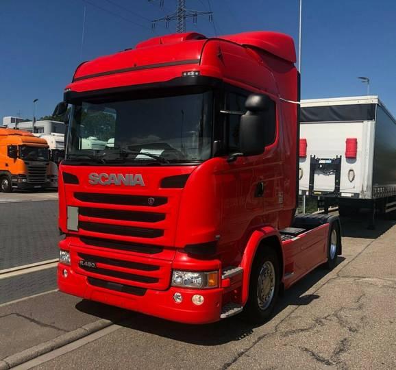Scania R450LA4X2MNA Standklimau002FFLCu002FACCu002FNaviu002FSCR - 2016