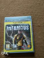 INFAMOUS DISC for PlayStation 3
