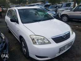 Toyota Runx in very good condition