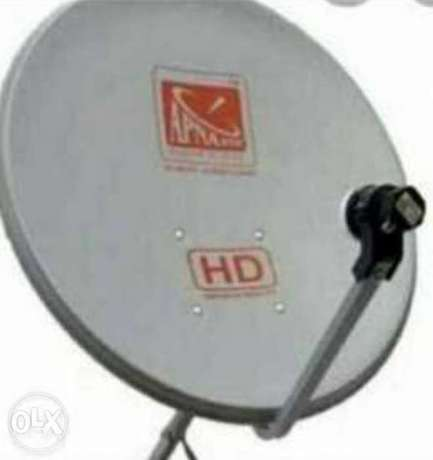 All dish receiver sale and fixing Air tel nile sat arab sat osn fixing