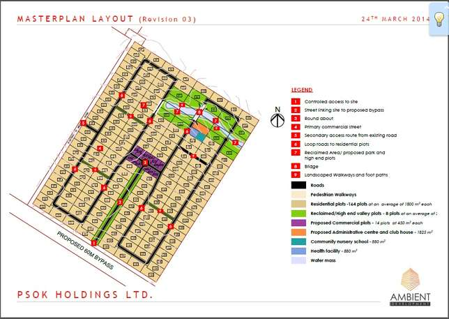 1/2 acre residential plot Near Tatu City in a Gated community Upper Parklands - image 1